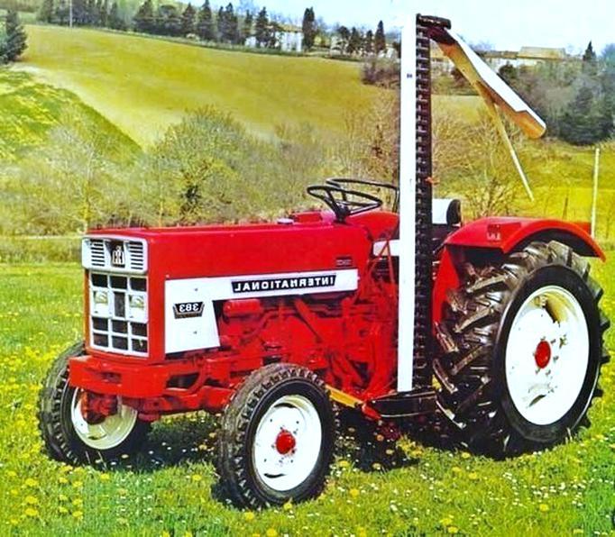 ih 383 tracteur d'occasion
