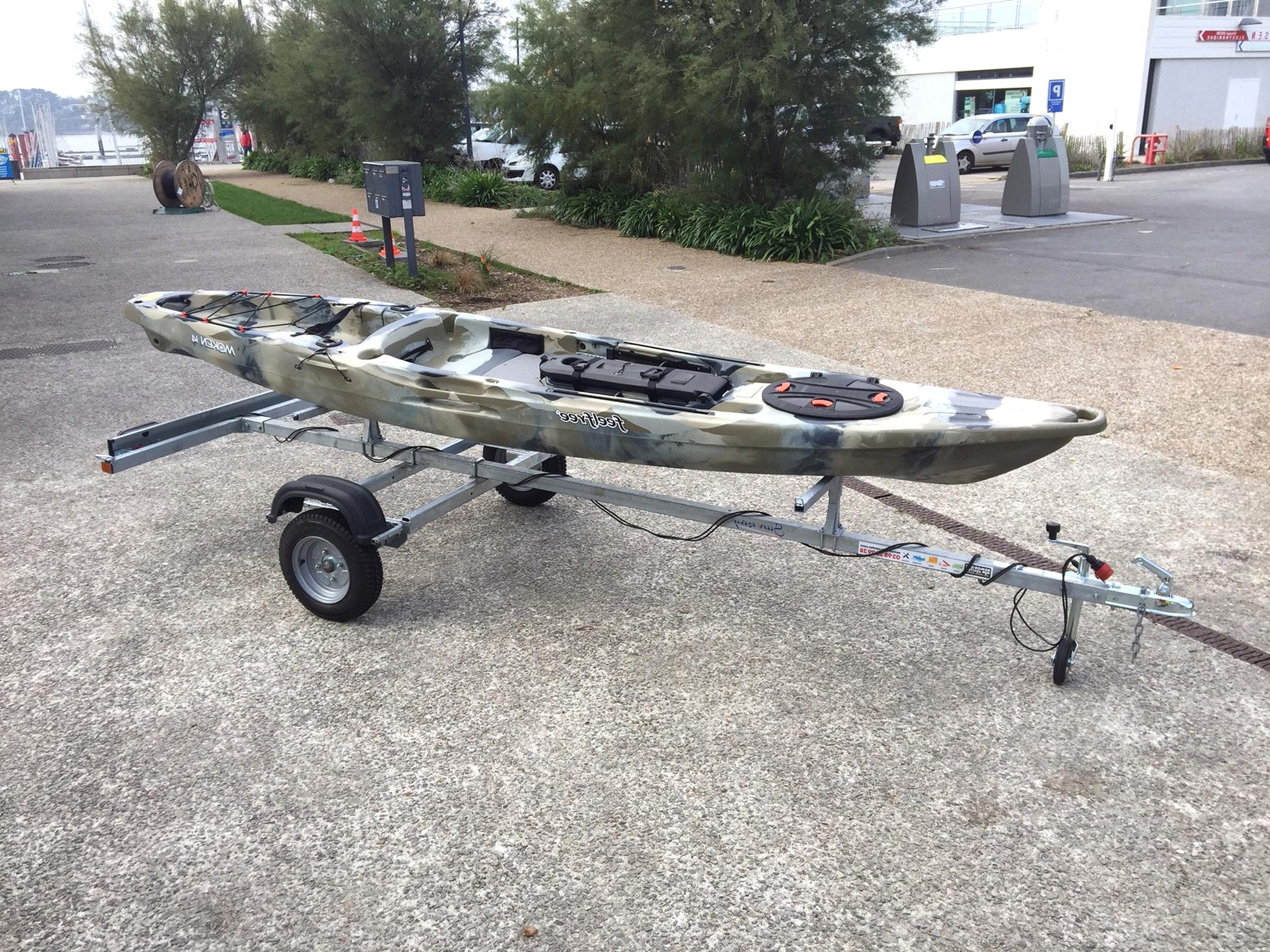 Remorque Kayak D Occasion Plus Que 2 A 70