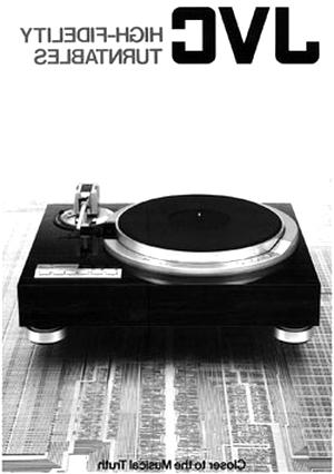 turntable jvc d'occasion