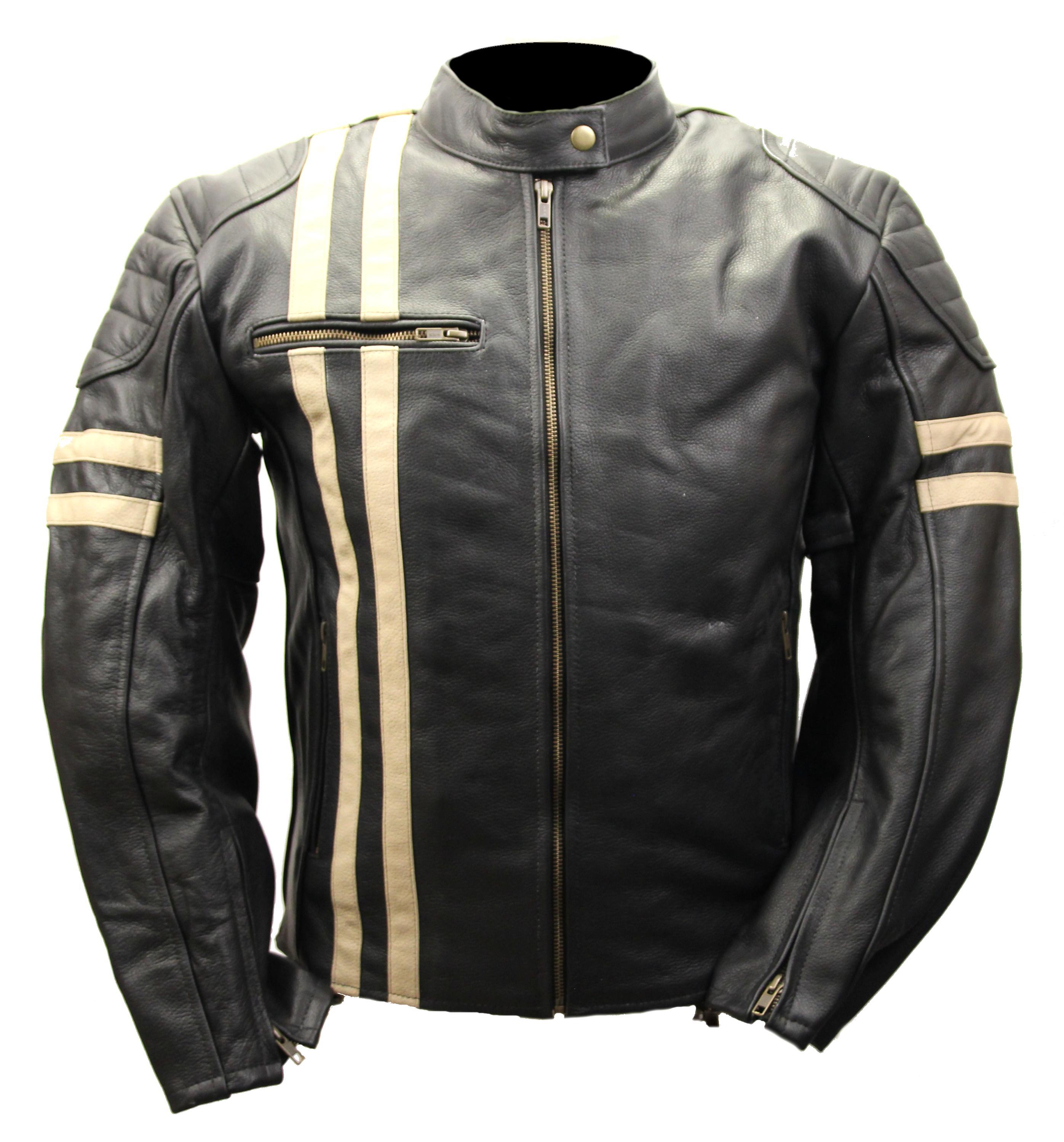 blouson cuir biker xl d'occasion
