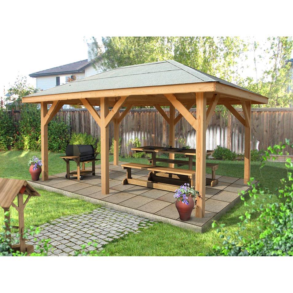 Kiosque En Bois Hexagonal kiosque bois d'occasion | plus que 3 à -75%