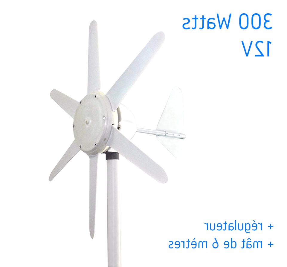Machabeau 200W 24V /Éolienne en Lanterne Rouge G/én/érateur de Vent G/én/érateur de Turbine