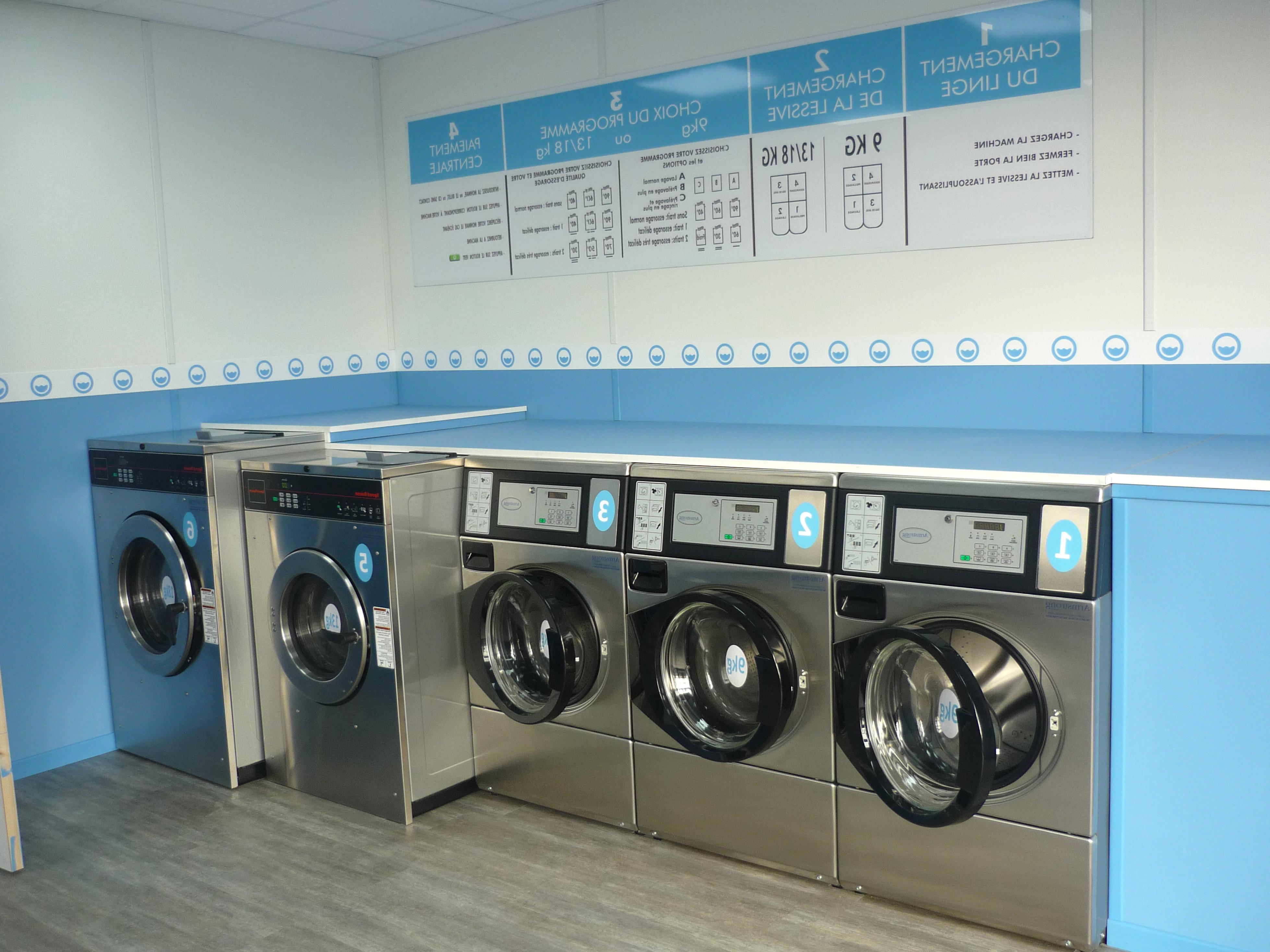 laverie automatique d'occasion