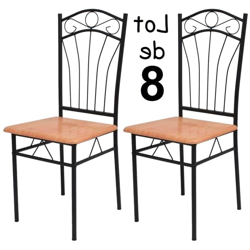 8 Chaises Fer Forge D Occasion