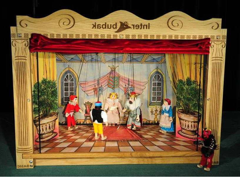 theatre marionettes d'occasion