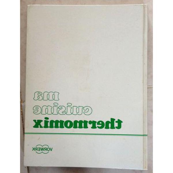 Livre Recettes Thermomix 3300 D Occasion