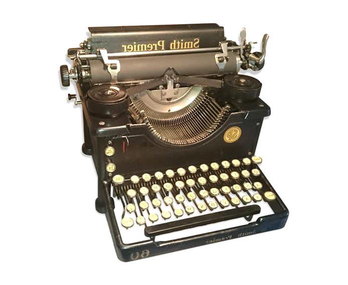 machine a ecrire ancienne d'occasion