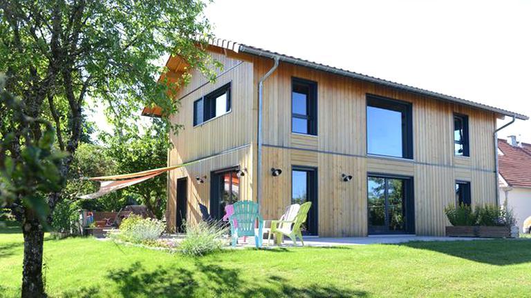 maison bois d'occasion