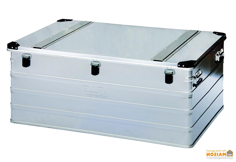 Cantine De Voyage Metallique malle aluminium d'occasion | plus que 3 à -65%