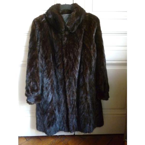 nouvelle collection 2990c bcdee manteau vison femelle
