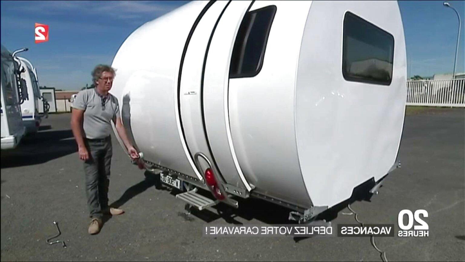mini caravane teardrop d'occasion