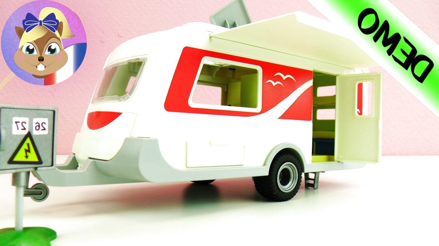 playmobil caravane d'occasion