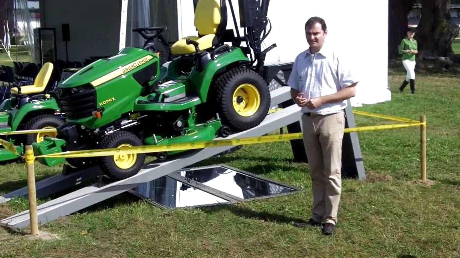 tracteur tondeuse john deere diesel d'occasion