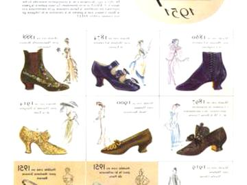 ancienne chaussures femme d'occasion
