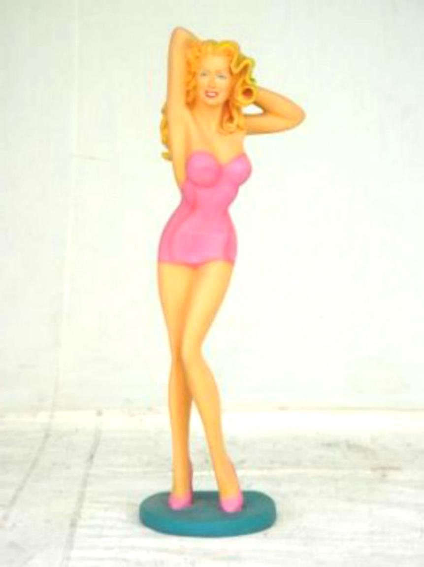 pin up statue vintage d'occasion