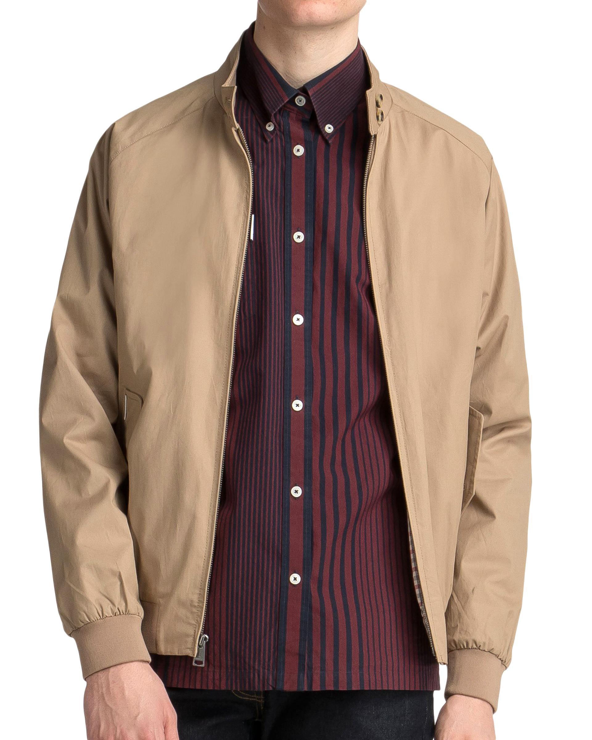 Superdry Men's Montauk Harrington Jacket, Beige, XXL: Amazon