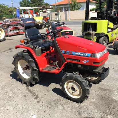 micro tracteur roue micro d'occasion