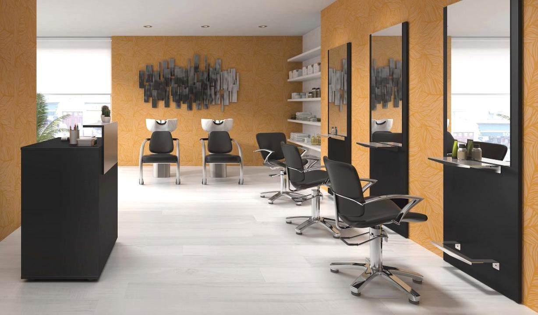 Beautiful Mobilier Salon De Coiffure Complet Pas Cher