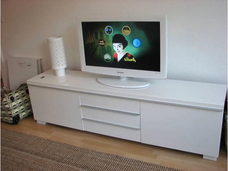 Meuble Tv Ikea Blanc Laque D Occasion