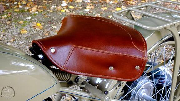 moto ancienne selle d'occasion