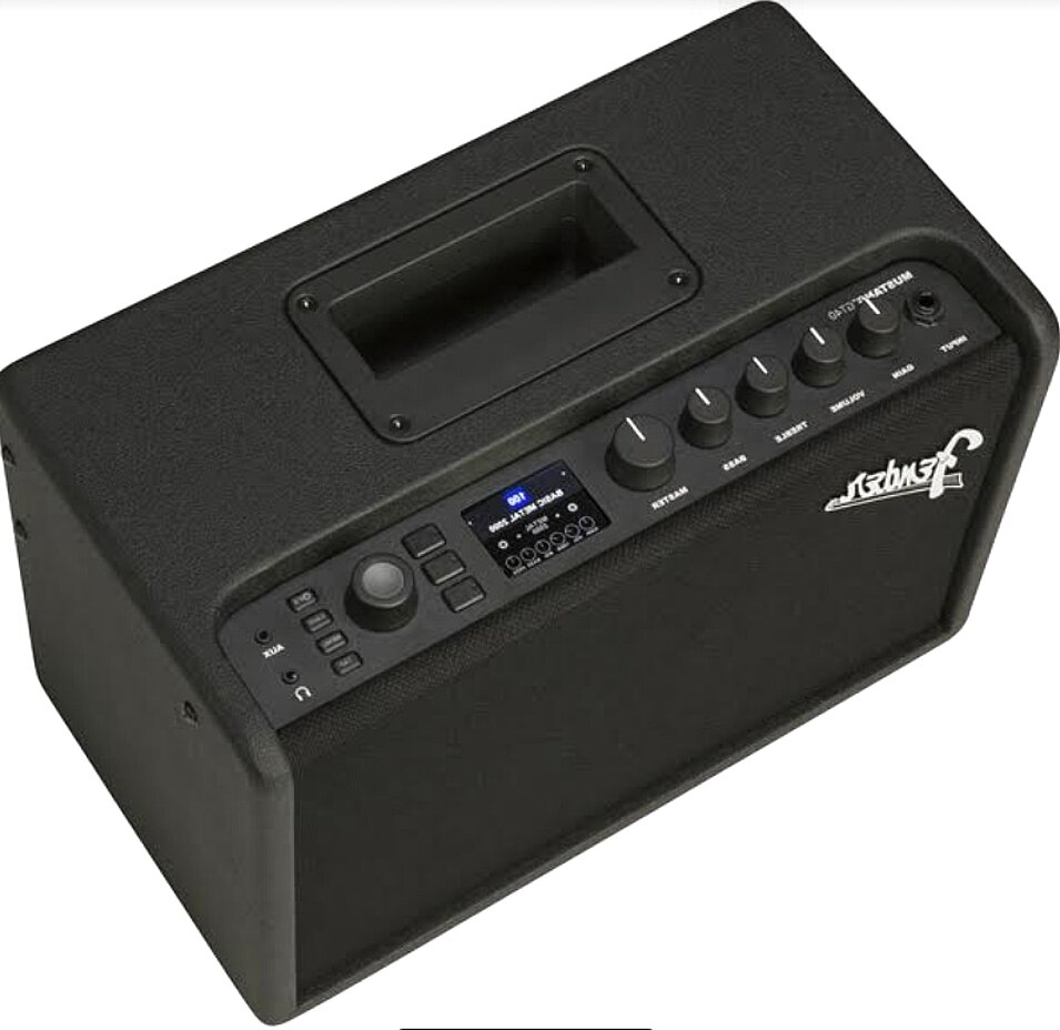 ampli guitare fender mustang d'occasion