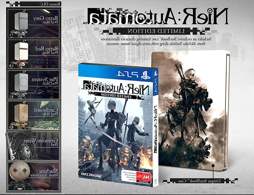 nier automata edition limitee steelbook ps4 d'occasion