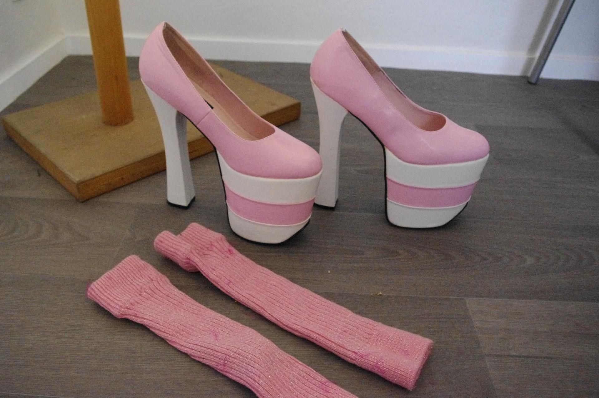 chaussure drag d'occasion