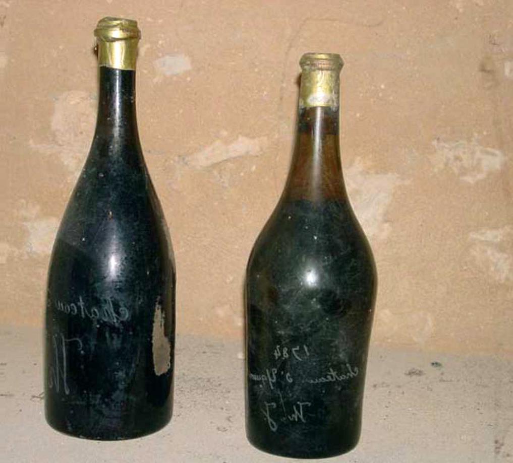 bouteilles anciennes vin d'occasion