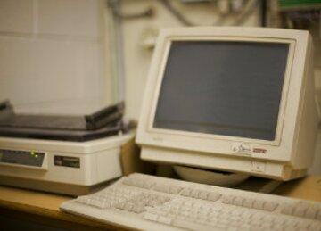 vieux ordinateur d'occasion