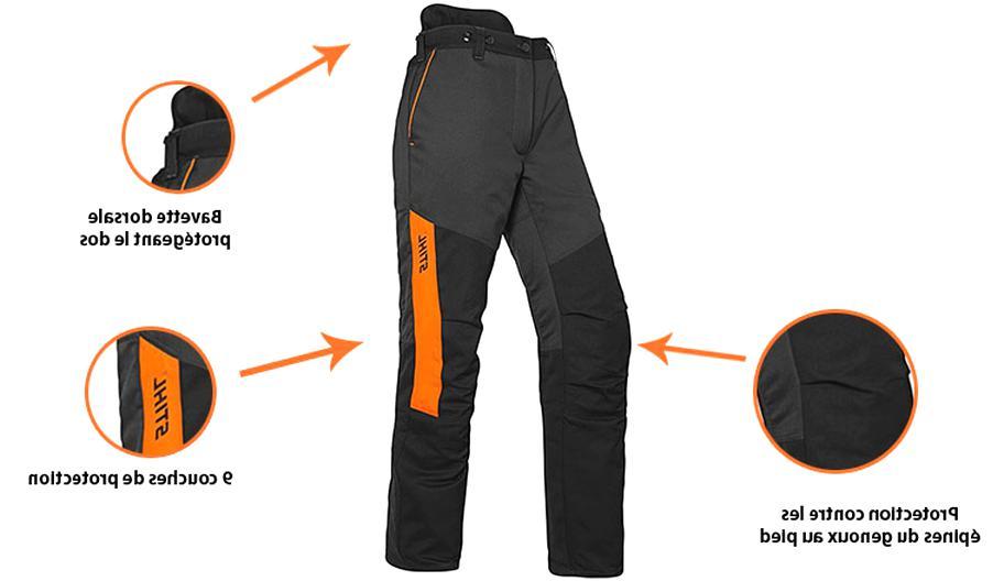 pantalon tronconneuse d'occasion