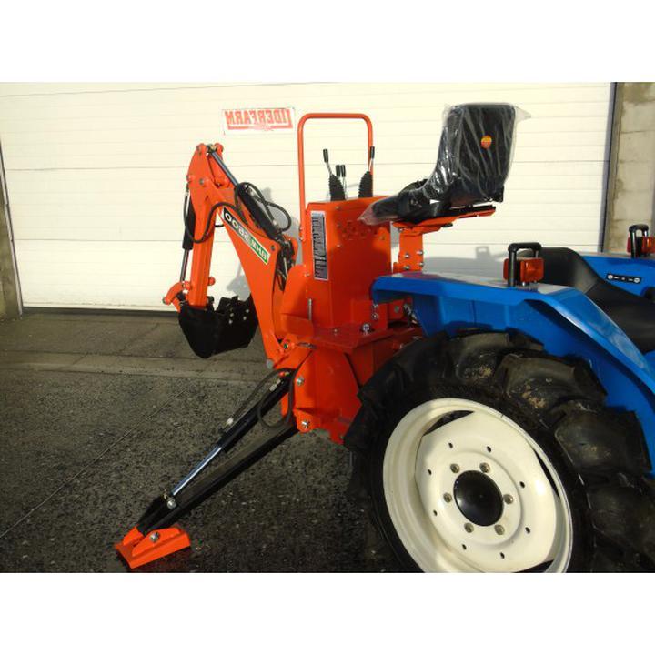 mini tracteur pelle d'occasion