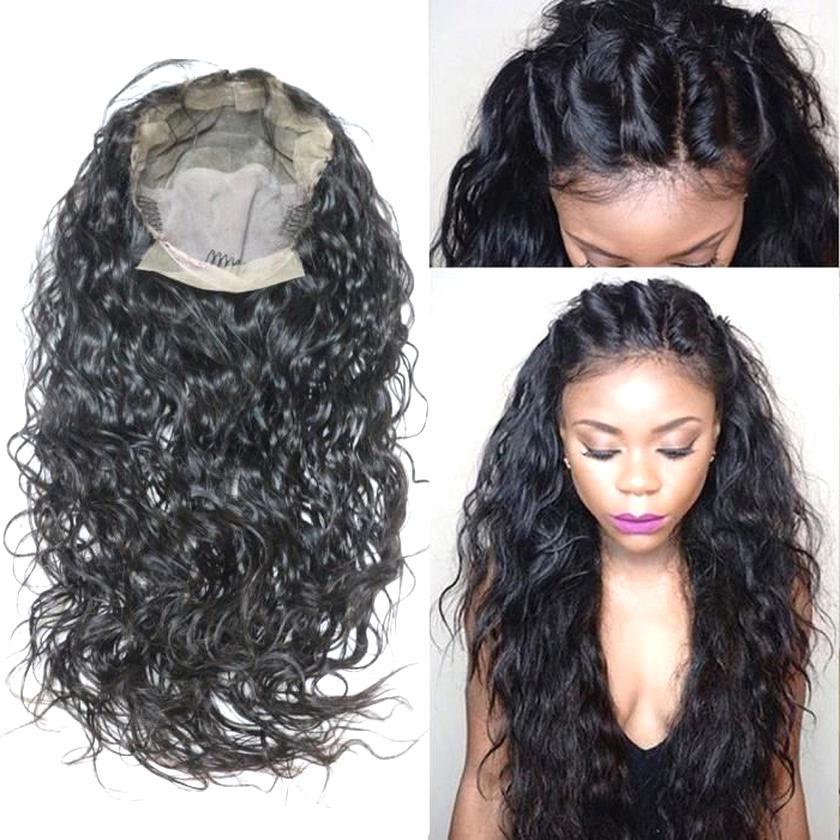 Perruque Cheveux Humains Courte Naturelle