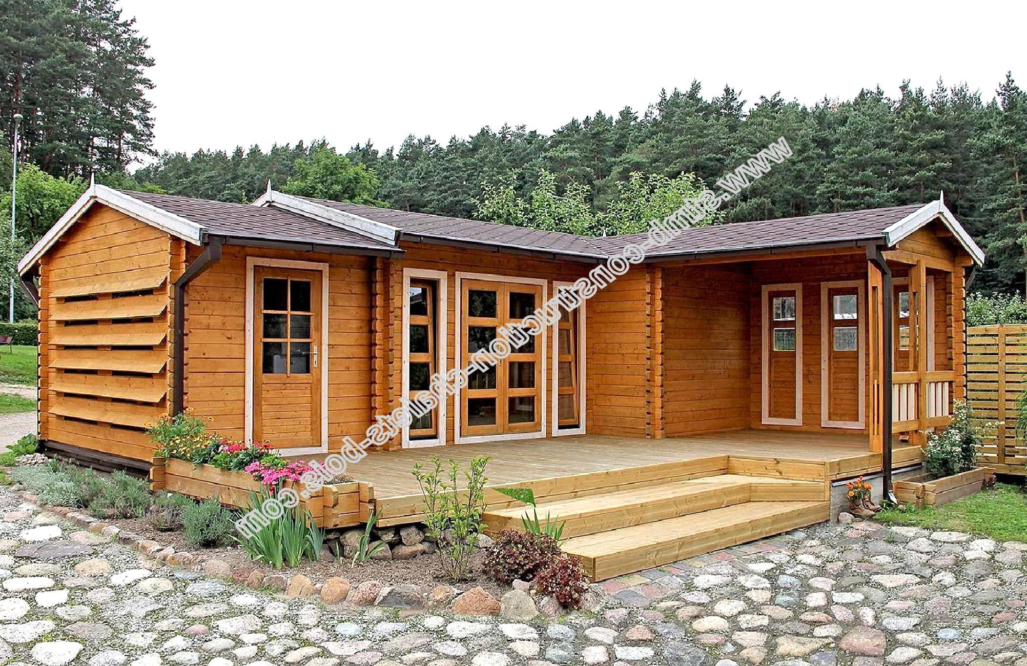 Chalet Bois Habitable D Occasion Plus Que 4 à 65