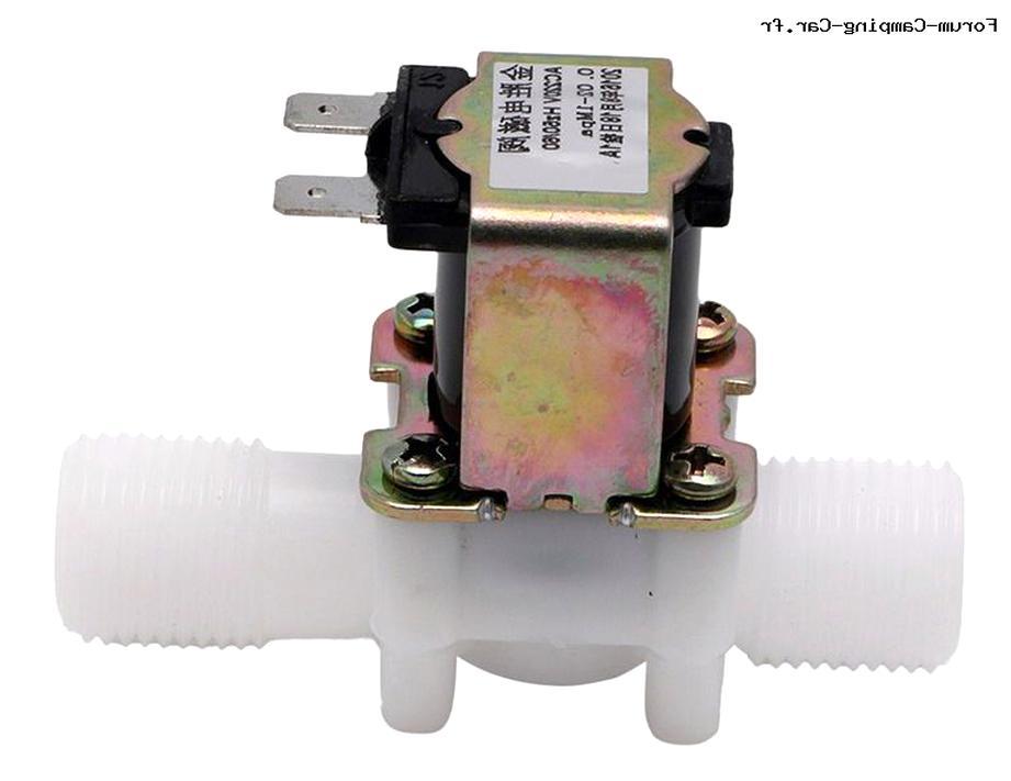 00051835 BOSCH SMI5046FF//13 N°12 Electrovanne adoucisseur pour lave vaisselle d/'