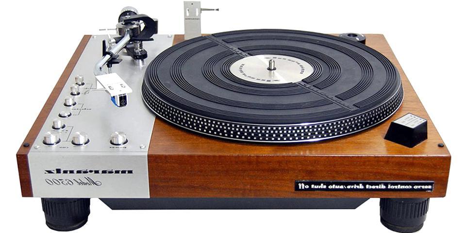 platine vinyle vintage d'occasion
