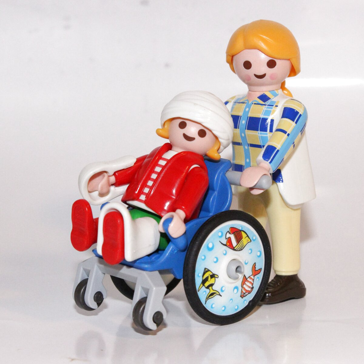 playmobil fauteuil roulant d'occasion