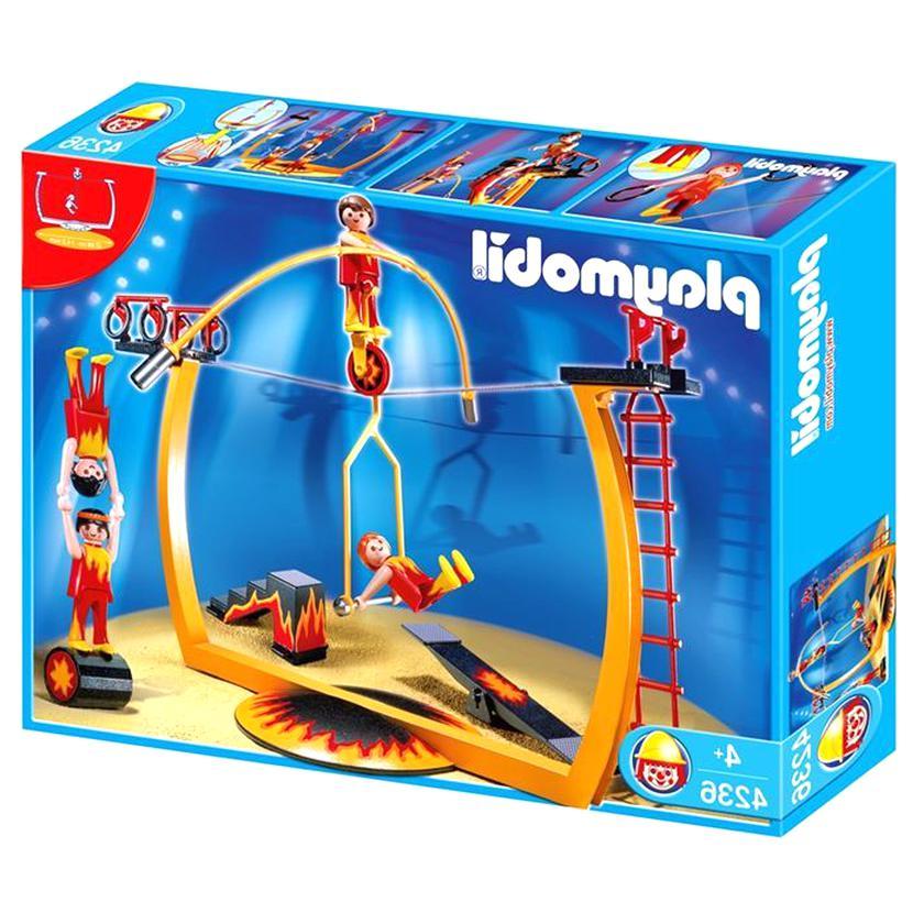 PLAYMOBIL Cirque Barrière pour Plateforme Funambule Set 3720 4236