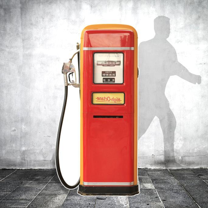 pompe a essence vintage