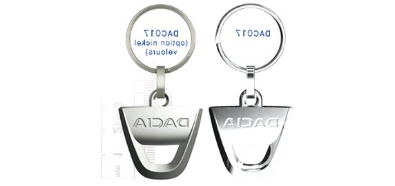 Cargifts Porte-cl/és Logo pour Dacia Duster