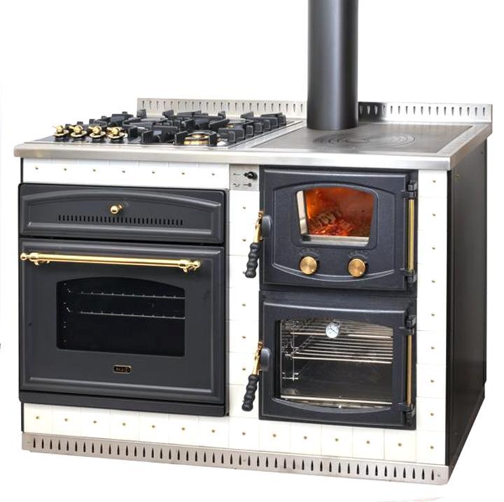 prix le plus bas ece6d 741d0 cuisiniere a bois mixte