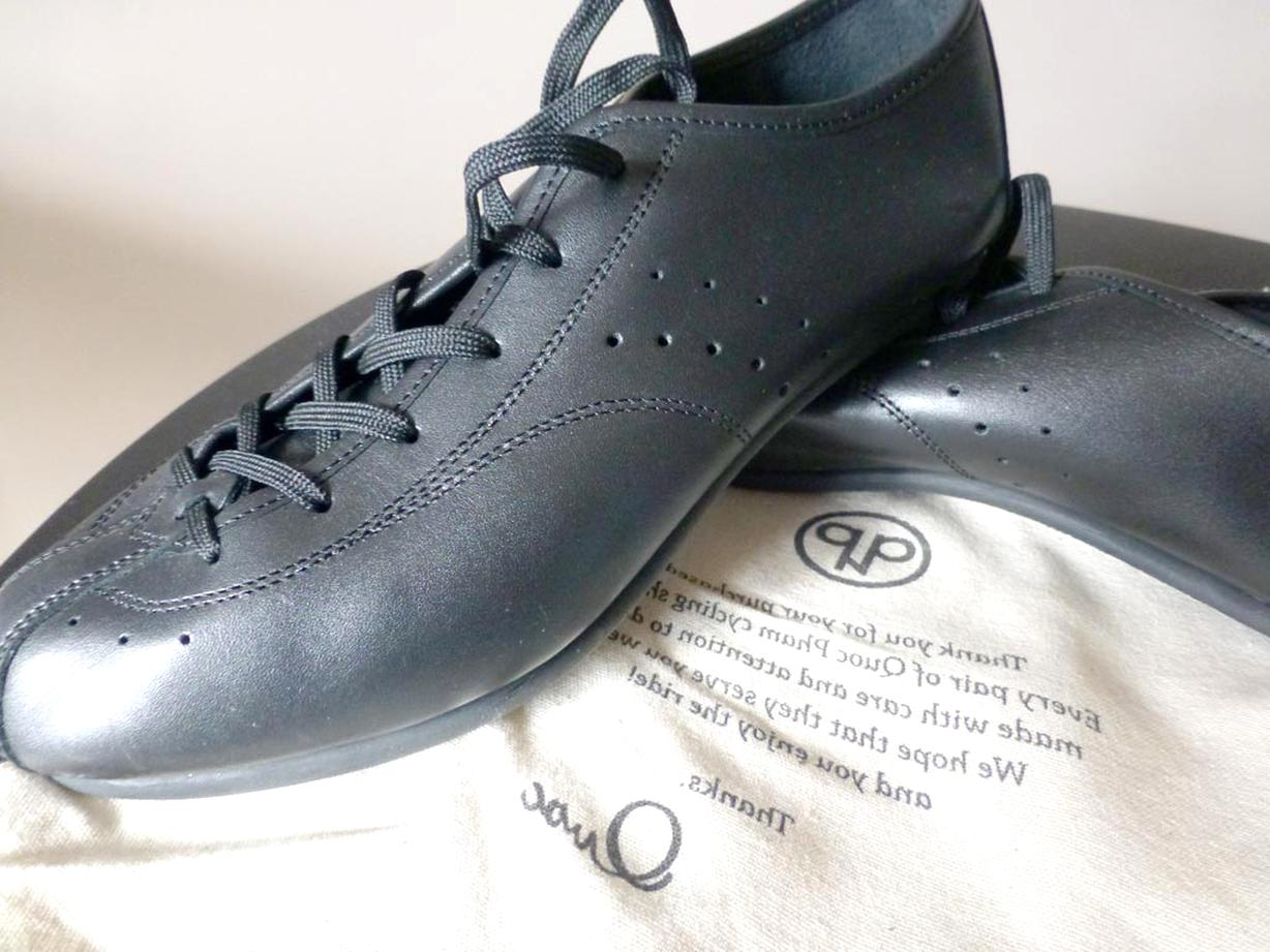 chaussure velo cuir d'occasion