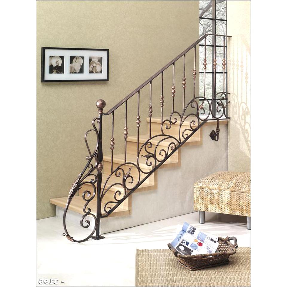 Rampe D Escalier Murale Bois rampes d escalier fer forge d'occasion