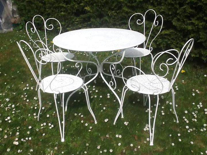 Table Salon Jardin Fer d\'occasion