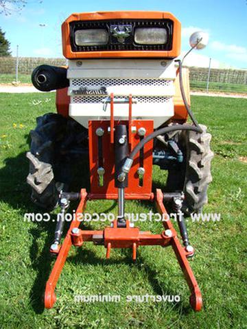 relevage avant micro tracteur micro tracteur d'occasion