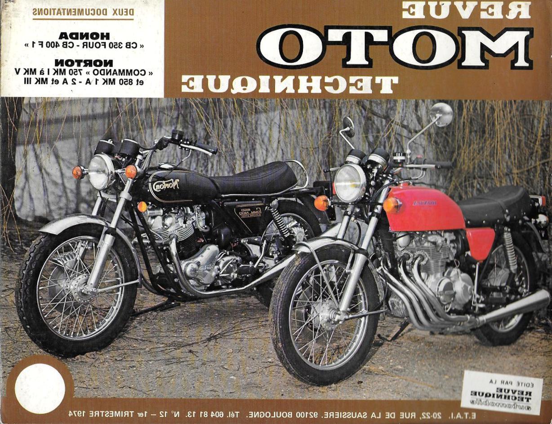 revue moto technique 12 d'occasion