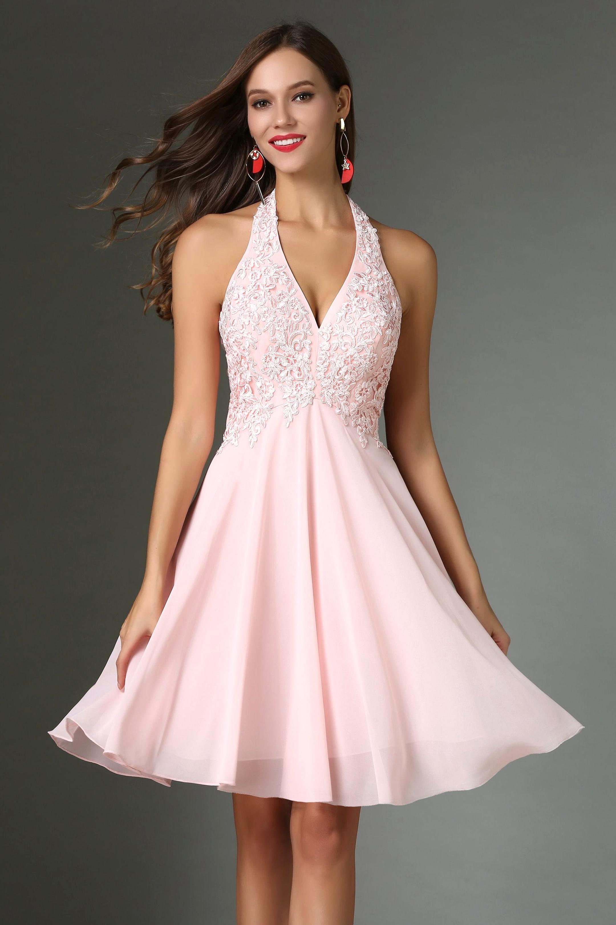 robe rose d'occasion