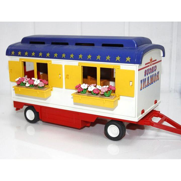 roulotte playmobil d'occasion