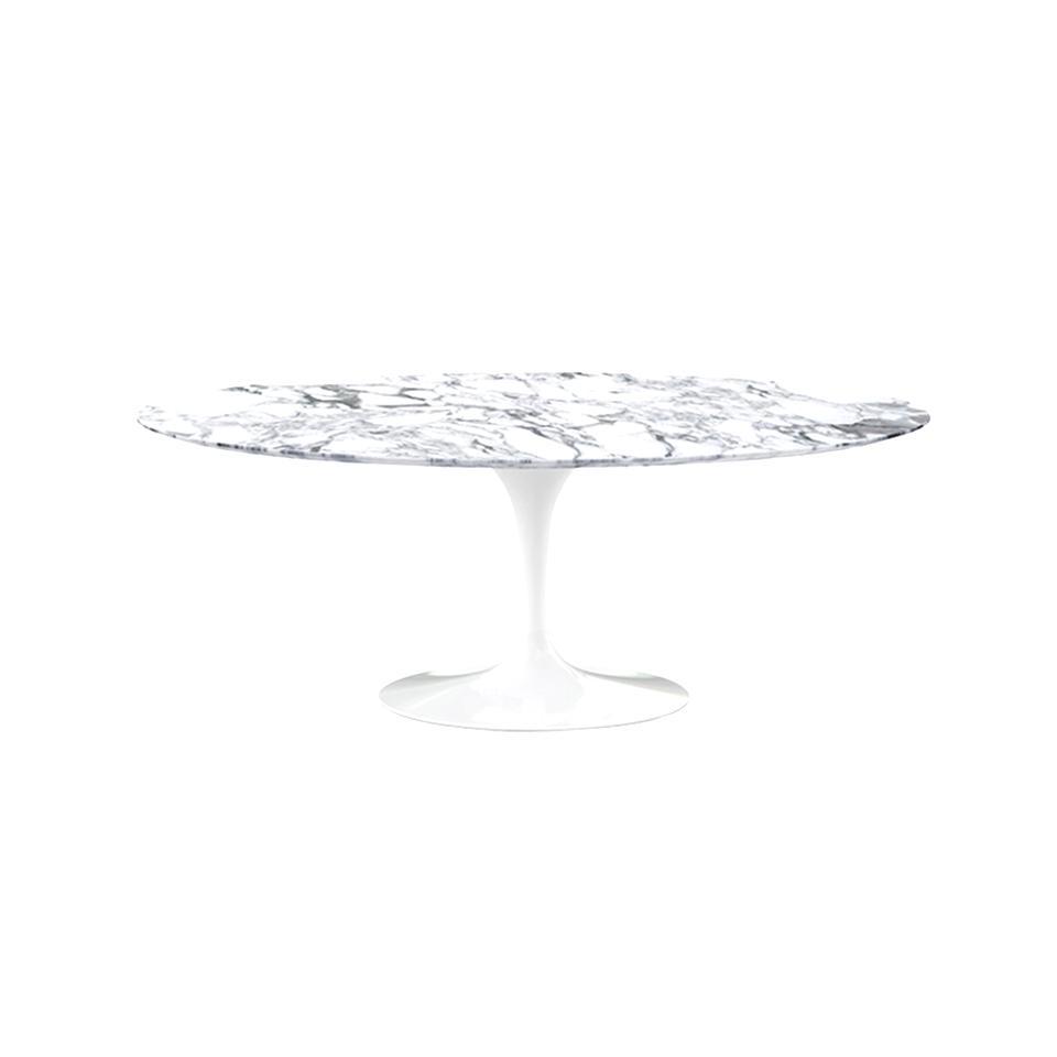 Table Knoll Saarinen Ovale Marbre D Occasion
