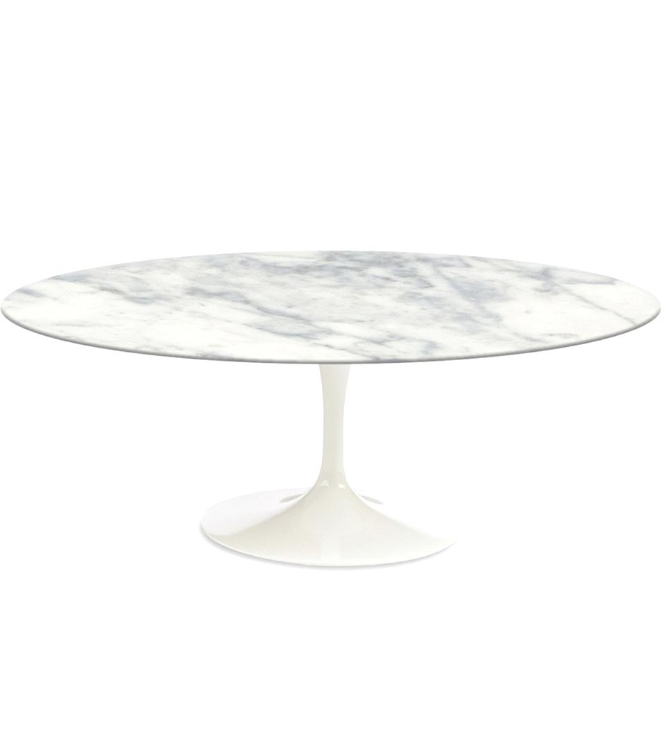 Table Florence Knoll Prix knoll table - table tulip marbre arabescato (e. saarinen