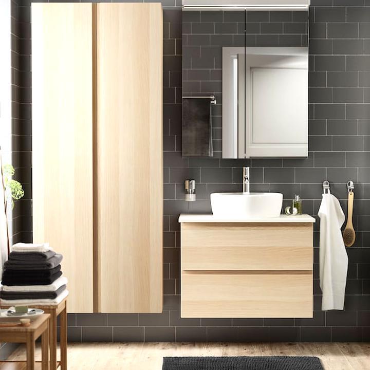 meuble salle bain ikea d'occasion